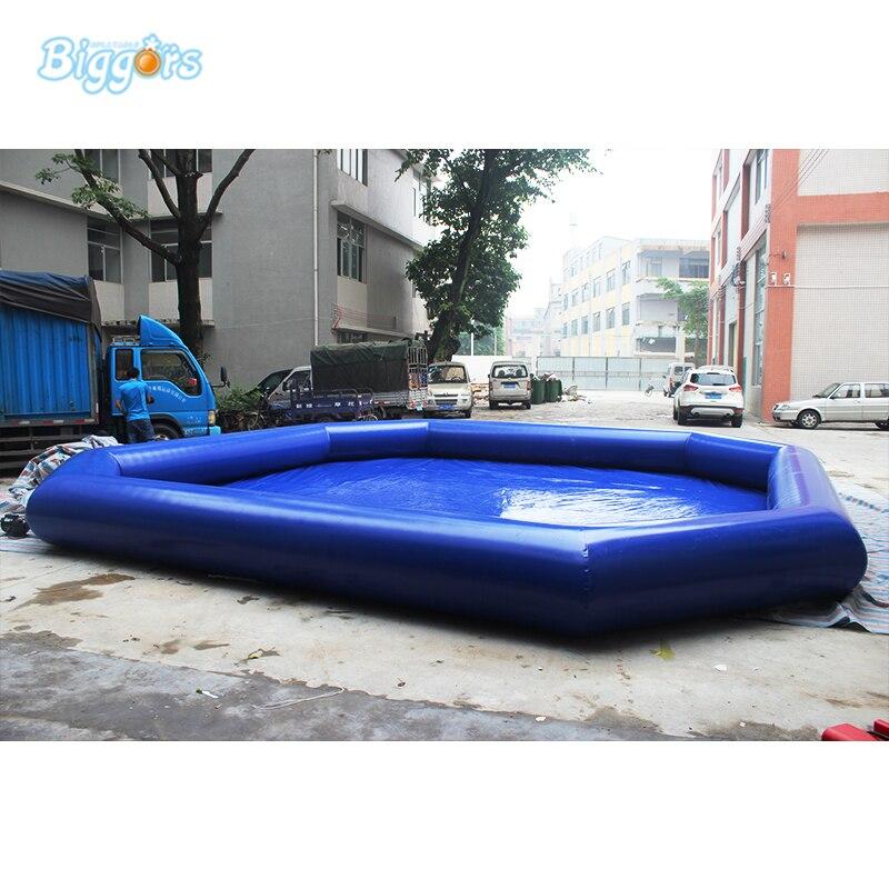 ПВХ Материал надувной бассейн большой надувной бассейн для аквапарк коммерческого