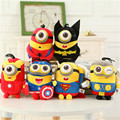 20cm Despicable Me Avengers peluche Minions Plush Toys Captain America Superman Batman Iron Man Thor Minion Stuffed Toys Doll