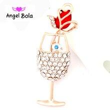 Pryme Jewelry Fashion Unique Shape Crystal Brooch For Women 2016 Wholesale Jewelry Luxury Rhinestone Brooch Pins BP-010