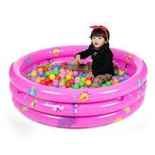 Открытый Ванна Забавный игровой цветной детский бассейн Trinuclear надувной портативный для детей подарок на день рождения