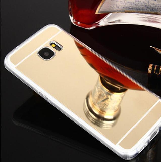 Magtim TPU Mirror Case For Samsung Galaxy A10 A20 A3 A5 A7 A8 2017 Back Cover Phone Case For S8 S9 Plus S6 S7 Edge J5 M10 Case