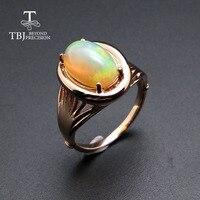 TBJ, новинка, опал кольца, опал кольца, высокое качество, натуральный драгоценный камень, серебро 925 пробы, ювелирные украшения для женщин, под