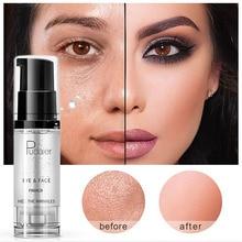 Maquiagem fundação hidratante natural nude face care olho base profissional make up primer creme líquido cobertura completa gel