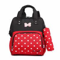 CUTE dots Backpack Children School Backpack School bags For Girls Waterproof Kindergarten Backpack grade 1-3 Wholesale gifts