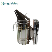 Beekeeping Stainless Steel  Bee Smoker Transmitter Kit Bees keeping Equipment and Tools for beekeeper 001