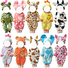 Doll clothes 43cm reborn Baby doll coat  for 18 inch girl toy wear accessories dropshipping