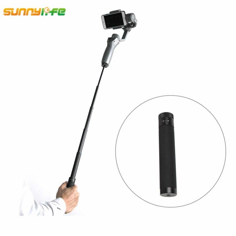 Sunnylife DJI OSMO Mobile 2 Handheld Gimbal Verlängerung Stick Stange Pole Skalierbare Halter Smartphone für OSMO Mobile 2 Zubehör