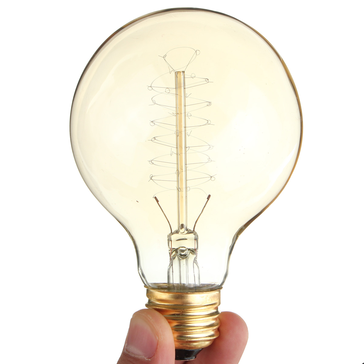 Smuxi AC110V 220V E27 Retro Edison Light Bulb 60W Incandescent Bulbs Tungsten Filament Home Decor Pendant Lighting