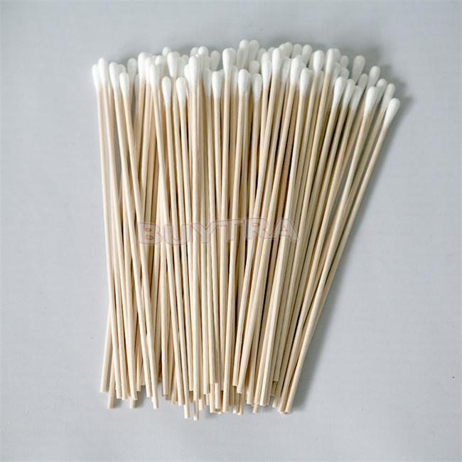 100 шт./лот, забота о здоровье, ватные палочки для малышей, ватные палочки, чистка ушей в носу, Косметика для макияжа, деревянные палочки, уход за ушами