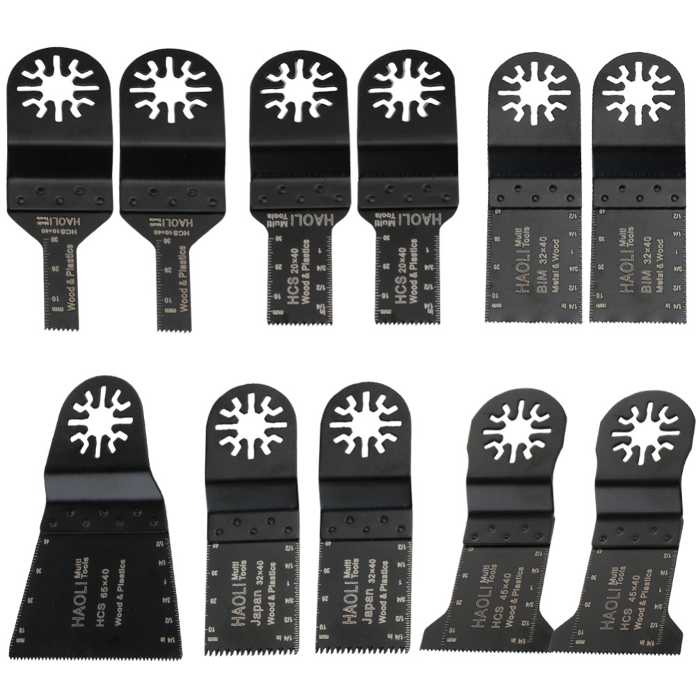 11 pcs kit oscillating tool saw blades for renovator power tools as Fein multimaster,Dremel,with export quality,free shipping wavelets as a tool to approach power quality