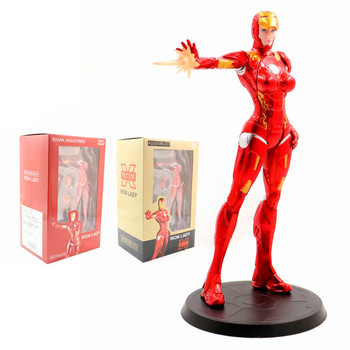 X-FACTION Marvel Superhero Stark Industries X-Faction Iron Lady Pepper Potts MK8 PVC Action Figure Collectible Model Toy NN0 фото