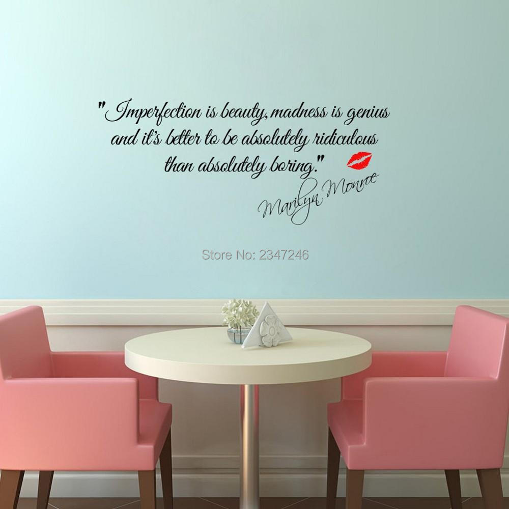 marilyn monroe wandtattoos kaufen billigmarilyn monroe. Black Bedroom Furniture Sets. Home Design Ideas