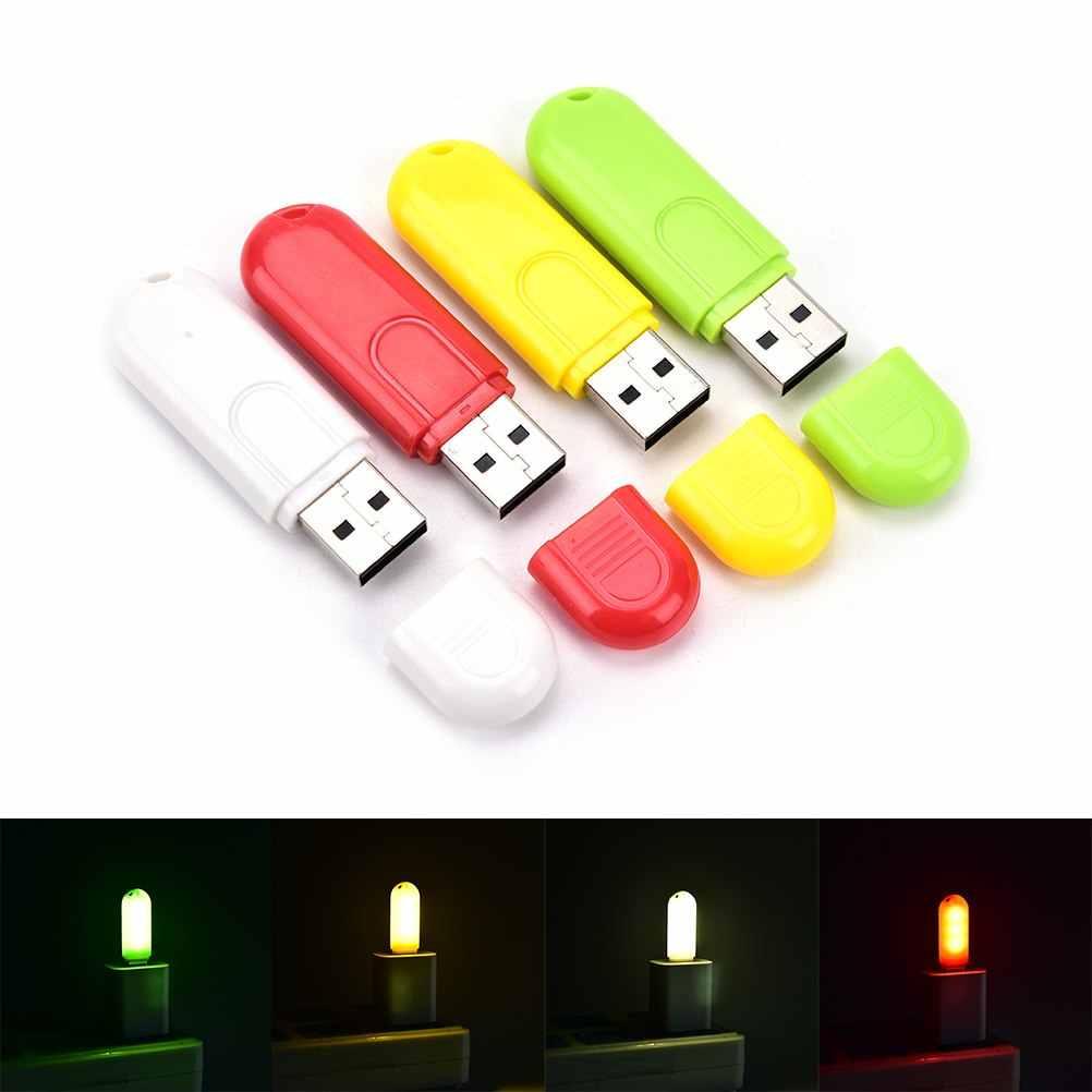 Draagbare USB LED Night Light Desk leeslamp Camping Boek USB Gadget voor Notebook Computer PC Power