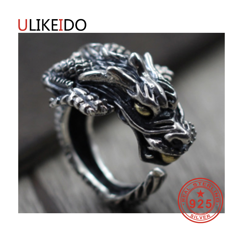 100% Pure 925 Sterling Silver Jewelry Rings Adjust Vintage Mens Signet Ring For Women Special Christmas Gift 989100% Pure 925 Sterling Silver Jewelry Rings Adjust Vintage Mens Signet Ring For Women Special Christmas Gift 989