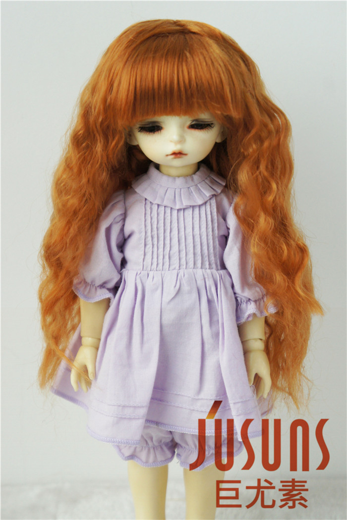 JD041 1/6 Soft Cabbage Long Wave  Doll Wigs Syntheitc mohair  BJD wigs  YOSD  Doll Accessories-in Dolls Accessories from Toys & Hobbies on AliExpress - 11.11_Double 11_Singles' Day 1
