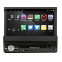 1 Din 7 GPS Navigation Bluetooth Car Radio Player Android 6 0 Car MP5 Player Steering