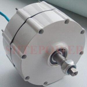 Image 2 - 800W 500r/m Permanent Magnet Generator AC Alternator for Vertical Wind Turbine Generator 24V 48v