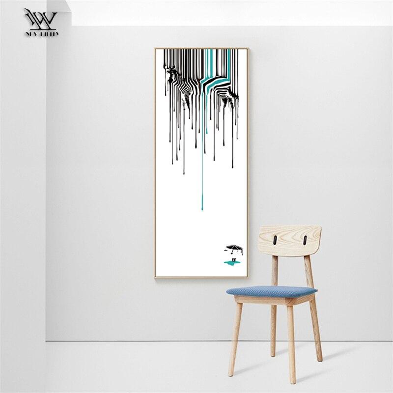 Us 668 58 Offsypialnia Plakat Na ścianę Sztuki Zwierząt Na Płótnie Malarstwo Home Obrazy Dekoracyjne Na ścianę Druk Do Dekoracji Salonu Nowoczesny