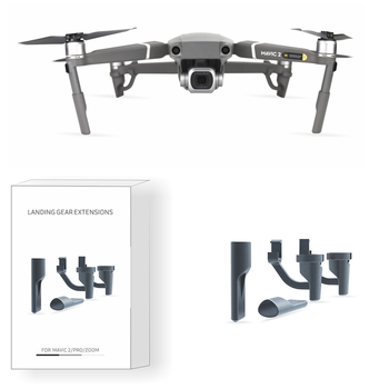 Mavic 2 Pro Gimbal Landing Gear Skids Mavic 2 Zoom Extended Leg Gimbal Extension Protector for DJI Mavic 2 Pro Accessories image