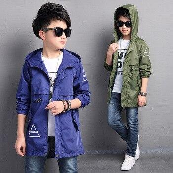 Dzieci berbeć chłopcy kurtka płaszcz kurtki z kapturem dla ubrania wierzchnie dla dzieci wiosna Baby Boy ubrania blezer wiatrówka