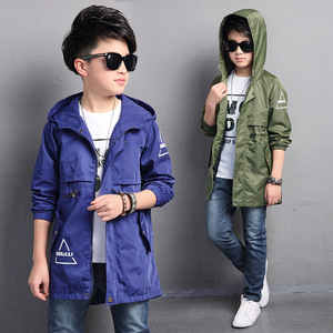Kids Toddler Boys Jacket Coat Hooded Jackets For Children Outerwear Clothing Spring Baby Boy Clothes Windbreaker Blazer