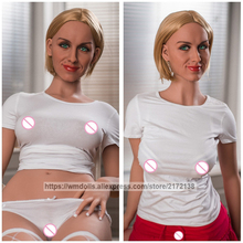 New WMDOLL 160cm Realistic Silicone Sex Doll Lifelike Adult Anime Robot Dolls Real Love Toys
