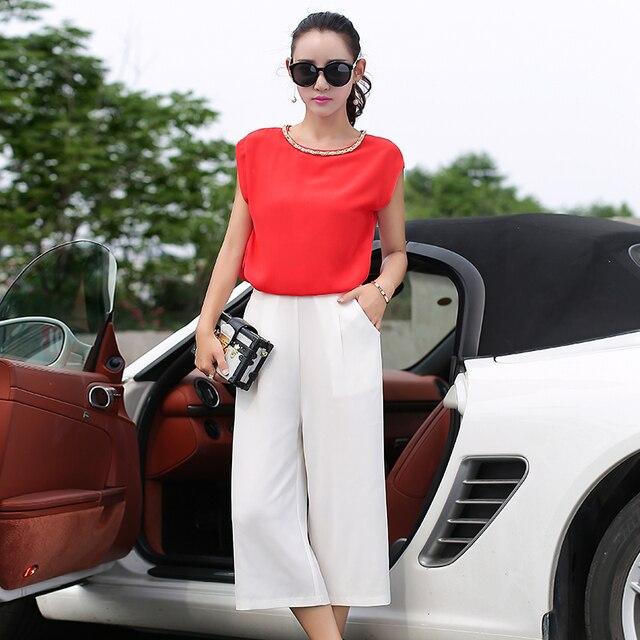 Aliexpress.com : Buy 2015 summer stylenew women chiffon blouse   ...