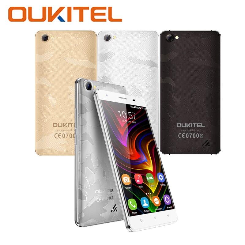 OUKITEL C5 Pro Smatphone MT6737 Quad Core 1 3GHz 16G ROM 2G RAM 5 0 Inch