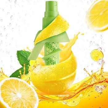 KONCO 2pcs Lemon Juice Sprayer, Manual Orange Juice Citrus Spray for fresh flavor, Lemon Squeezer for Salad, Kitchen Gadgets 1