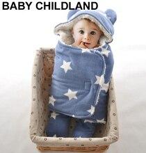 0-18 М новорожденных ребенка пеленать обертывание мягкого флиса младенческой новорожденный пеленание Одеяло beand детские Wrap Одеяло мягкий фланель Sleepsack