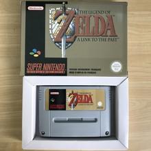 Legend of Zeldad: Um Elo com o Passado do jogo 16bit cartidge Versão UE
