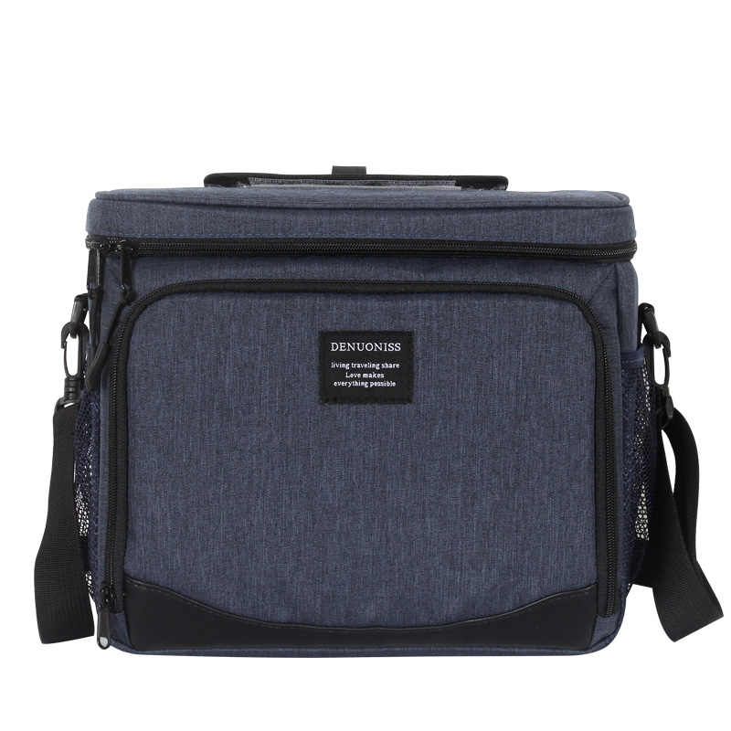 c44a1ba15169 Adult Lunch Box Insulated Lunch Bag Large Cooler Tote Bag for Men Women New  style and keep food warm