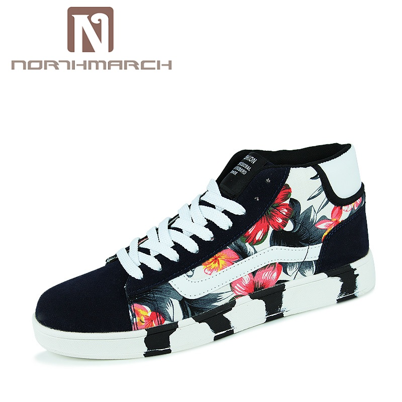 NORTHMARCH New Arrival Spring Summer Comfortable Casual Shoes Mens Canvas Shoes For Men Lace-Up Brand Fashion Flat Loafers Shoe