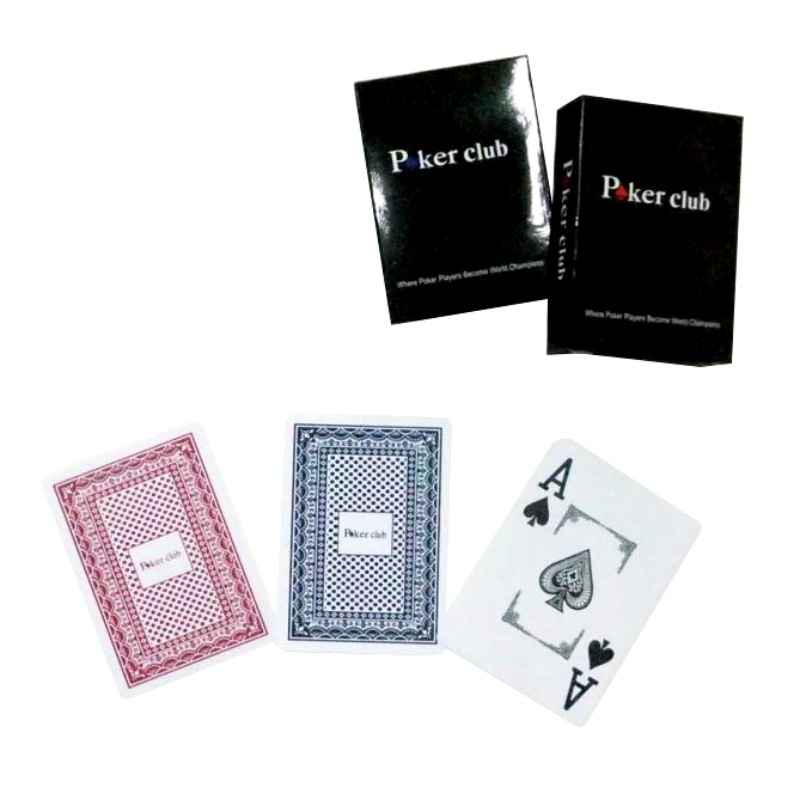 Hot Sale Plastic Playing Frosted Wide Big Line Edition Texas Poker Wholesale Water Proof Poker