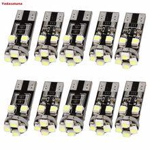 10 x pcs no érreur gratuit CANBUS 8 SMD Voiture Auto LED Lumière Ampoules BLANC W5 W T10 501 secondaires ampoules