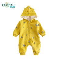 Brand New Baby Rompers Thicken Newborn Outwear Suits Winter Warm Long Sleeves Clothing For Boys Girls