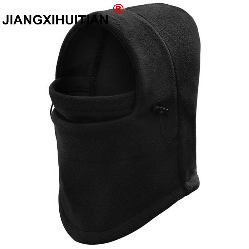 Winter Warm Balaclava Cap Gorro Hats For Men Women Bonnet Hood Cover Scarf Neck Warmer Fleece Skull Ski Face Mask Beanies Bonnet