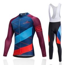 купить Pro Cycling Jersey set Cycling clothing 2017 Breathable Mountain Bike Clothes Quick Dry MTB Bike Bicycle Sportswear Cycling Set дешево