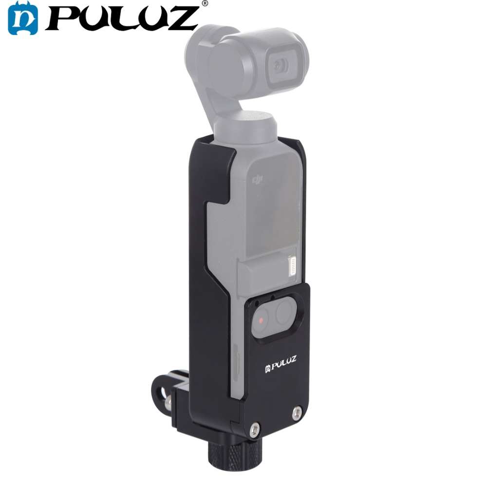 PULUZ Housing Shell CNC Aluminum Alloy Protective Cover For DJI OSMO Pocket Handheld Gimbal Accessories