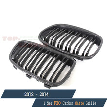 1 Series for BMW F20 118i 120i 125i M135i 2012 2013 2014 Kidney Grill Grille Matt Black Finish