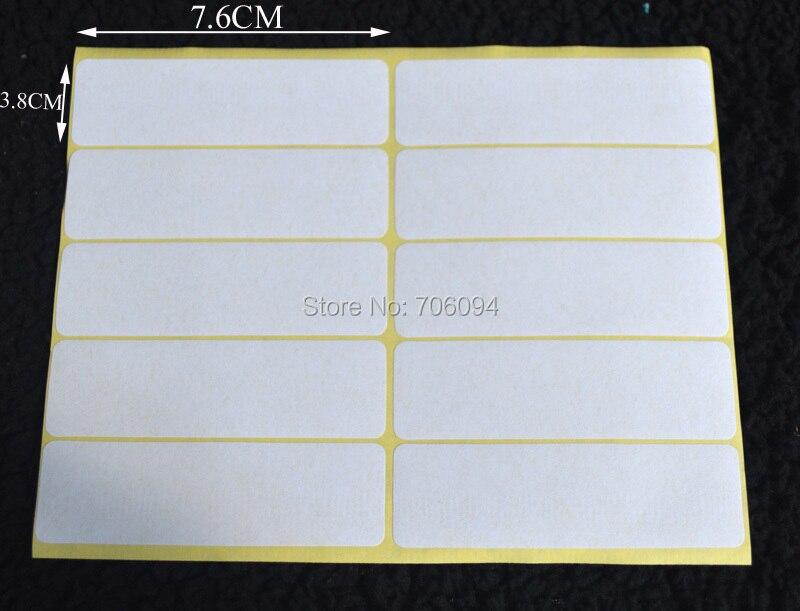 Aliexpress Com Buy 100sheets 1000pcs White Sticky