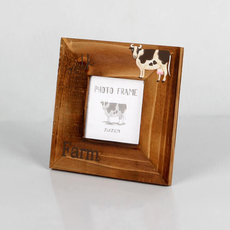 Europe Style Vintage Photo Frame Family,Wooden Picture Frame Wall Office Desk Wedding Photo Frames Classic Painting Frame Wood