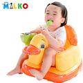 Cadeira de Alimentação do bebê Inflável Sofá Assento Infantil Jogo de Jantar Portátil Cadeira de Banho das Crianças Plástico Transat Cadeira Sofá de Sopro