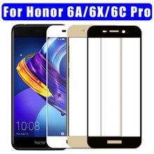 Honor 6c Pro Vetro di Protezione 6 c un per huawei honor 6a x 6x c6 a6 x6 Schermo Temperato Glas protezione honor 6c 6cpro honor 6a pellicola