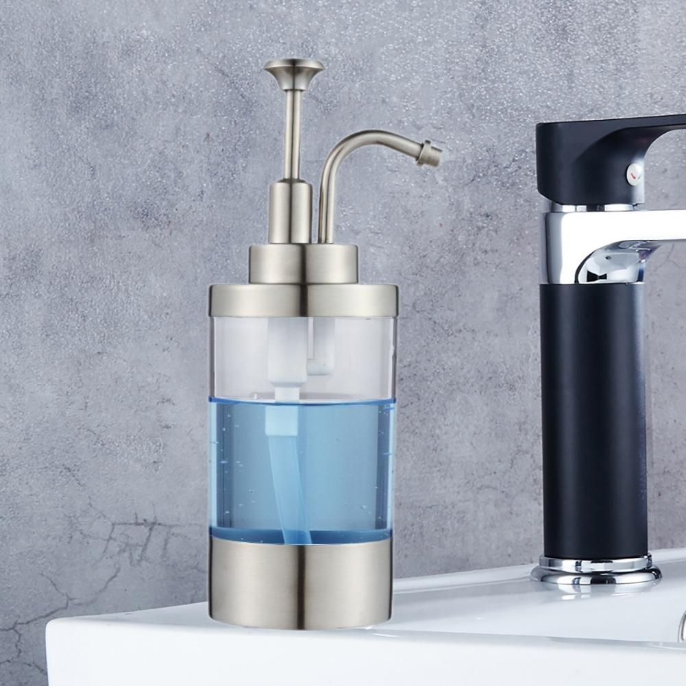 Countertop Sensor Soap & Sanitizer Dispenser Touch-free Soap Bottle ...