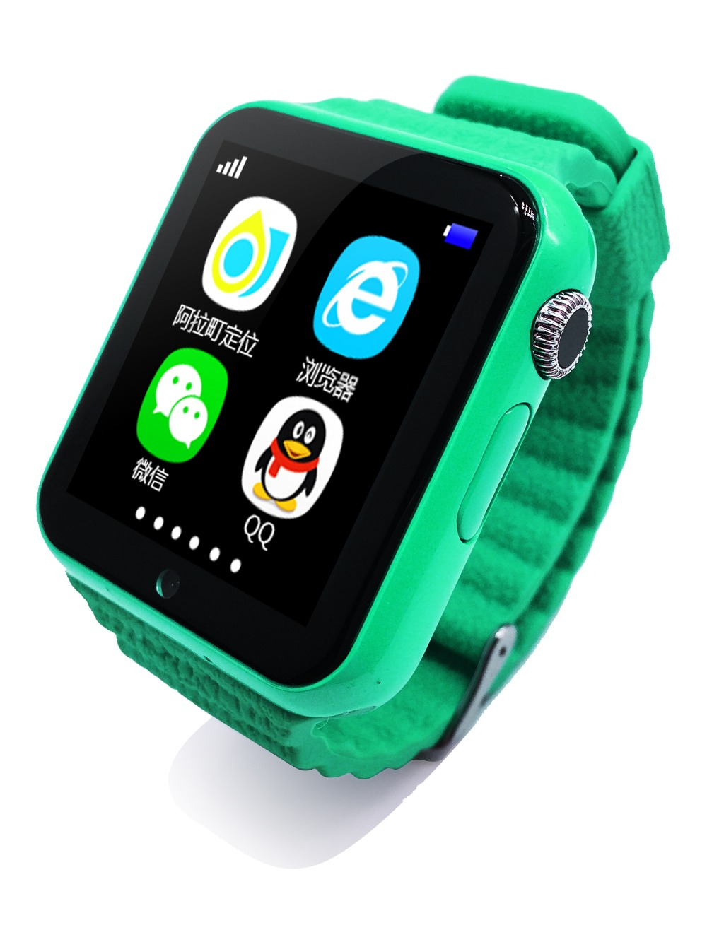 EnohpLX Children Security Anti-lost GPS Tracker Smart Watch V7K 1.54 Screen Kid SOS Emergency For iPhone and Android
