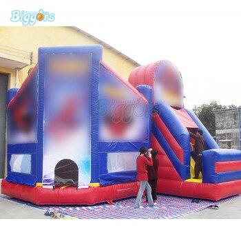 Casa De Rebote Al Aire Libre | Inflable Gigante Inflable Castillo Inflable Casa De Rebote Diapositiva Combo Con Sopladores