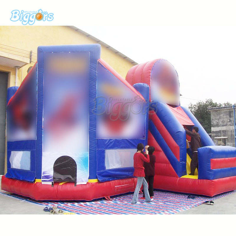 Inflatable gaint bouncy castle inflatable bounce house Bouncing slide combo with blowers