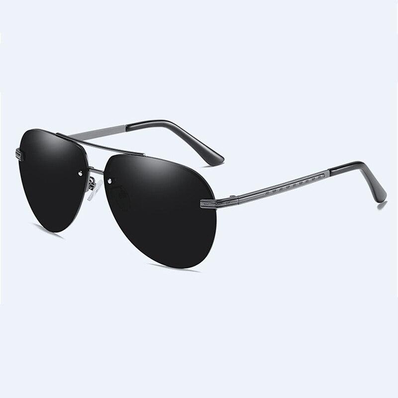 Retro Pilot Polarized Sunglasses Men UV400 High Quality Sun Glasses Mirror Driving Sunglasses Classic Gafas De Sol Masculino in Men 39 s Sunglasses from Apparel Accessories