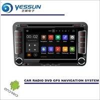 Yessun Автомобильный мультимедийный навигационный Системы для Volkswagen VW Bora 2013 ~ 2017 CD DVD GPS игрока Нави Радио стерео HD winCE/Android